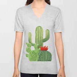 Perfect Cactus Bunch Unisex V-Neck