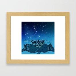 City of Stars Framed Art Print