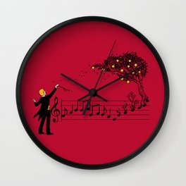 Maestro Of Nature II Wall Clock