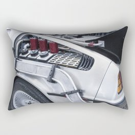 When this baby hits 88 miles per hour... Rectangular Pillow