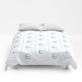 Milk Carton Pattern  Comforters