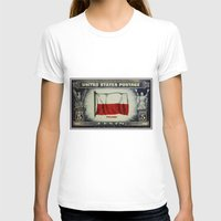 poland T-shirts featuring Flag of Poland by lanjee