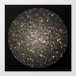 """Globular Cluster"" Hercules Constellation Canvas Print"