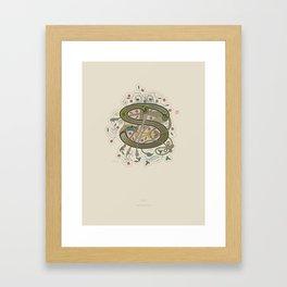 Celtic Initial S Framed Art Print