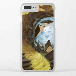 """Bookworm"" by Adam France Clear iPhone Case"