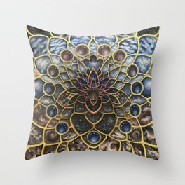 A Looking Glass Into Existence Throw Pillow