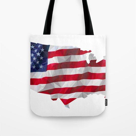 The Star-Spangled American Flag Tote Bag
