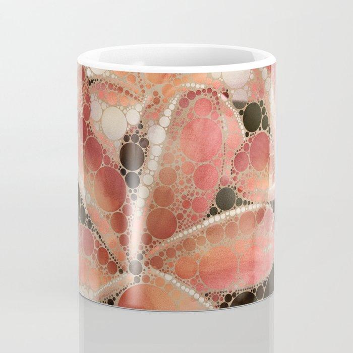 Percolated Tropical Flowers Coffee Mug