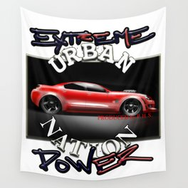 Car Hot Machine - Accessories & Lifestyle Wall Tapestry