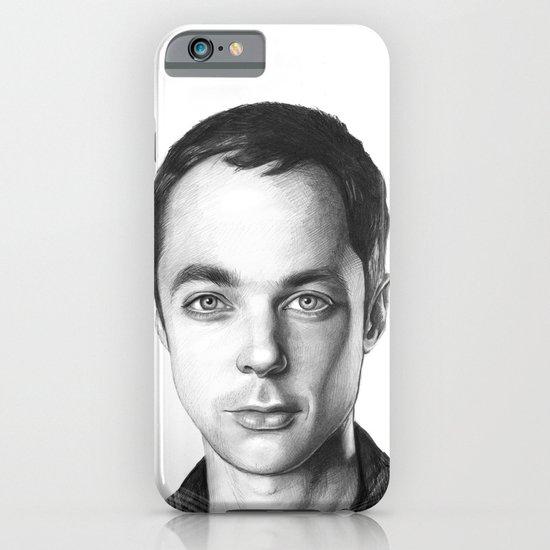 Sheldon Cooper BBT Portrait iPhone & iPod Case