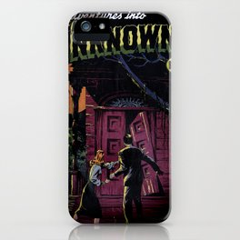 THE UNKNOWN (1948) iPhone Case