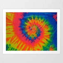 Tie Dye 016 Art Print