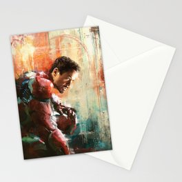 The man of Iron Stationery Cards
