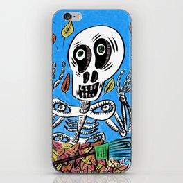 Sherman T. Skully in Autumn iPhone Skin