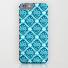 Octopus Cameo Pattern iPhone Case