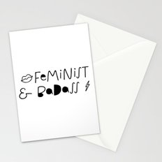 Feminist & Badass Stationery Cards