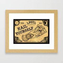 LPOTL Ouija board Framed Art Print