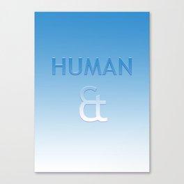 Human et – Humanity Colour Canvas Print