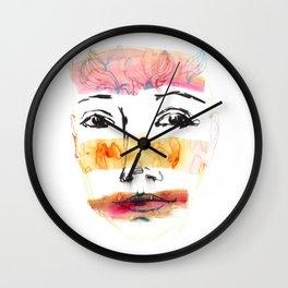 Head Shot #3 Wall Clock