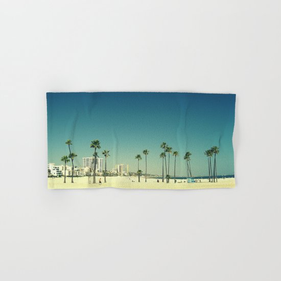 Summer Beach Blue Hand & Bath Towel