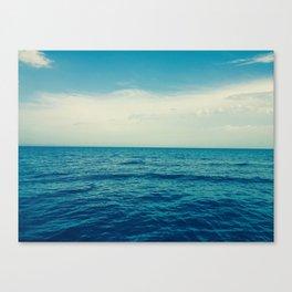 Unending Lake Canvas Print