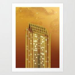 Three Logan Square - Philadelphia Art Print