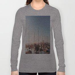 Sailboats-Film Camera Long Sleeve T-shirt