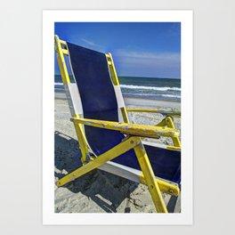 Chairman of the Beach Art Print