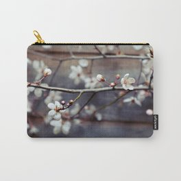 Plum and Mocha Carry-All Pouch