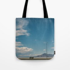 Bonneville Salt Flats Utah USA Tote Bag