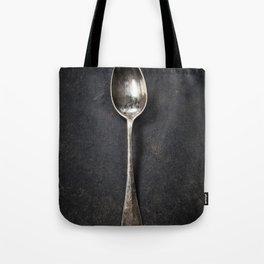 Vintage metal spoon Tote Bag