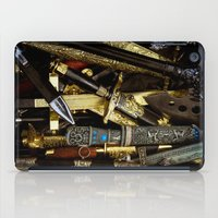 arsenal iPad Cases featuring  Collage - Daggers, Dirks and Sabres by digital2real