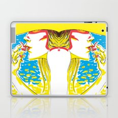 summer girl 2 Laptop & iPad Skin