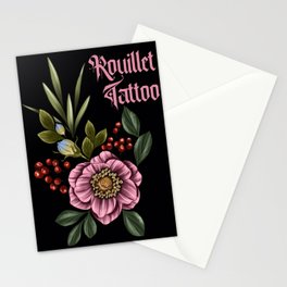 Neotraditional Florals Stationery Cards
