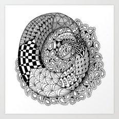 Mobius Twist Art Print