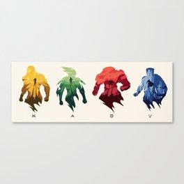 The Javelins Canvas Print