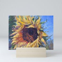 Good Morning Sunflower — Provence, France Mini Art Print