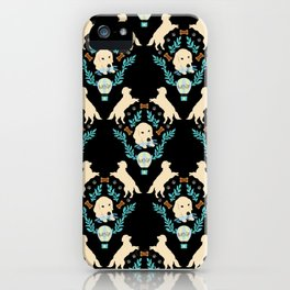 Cute Golden Retriever iPhone Case