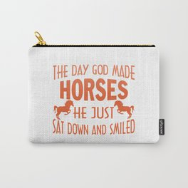GOD MADE HORSES Carry-All Pouch