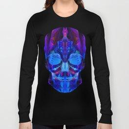 Neon Skull Long Sleeve T-shirt