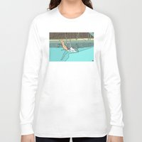 diver Long Sleeve T-shirts featuring Diver by Highly Anticipated