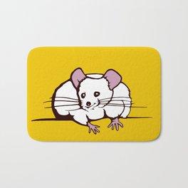 Fat mouse Bath Mat