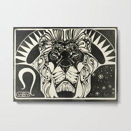 Leo, the Lion Metal Print