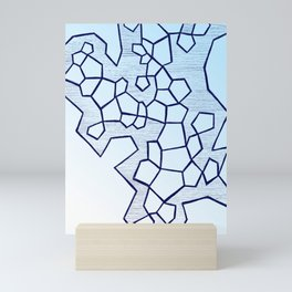 Fractal Gradient Mini Art Print
