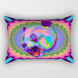 Prismatic Panda  Rectangular Pillow