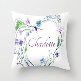 char Throw Pillow