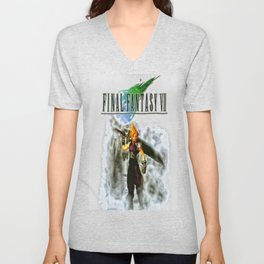 Cloud Strife Final Fantasy 7 Unisex V-Neck