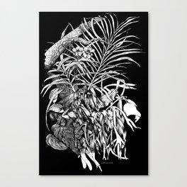 TROPIC GARDEN Canvas Print