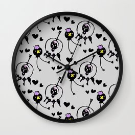 poke pals  Wall Clock