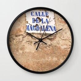 MAGDALENA. Wall Clock